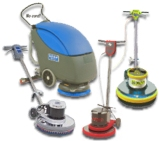 burnishers and floor scrubbers
